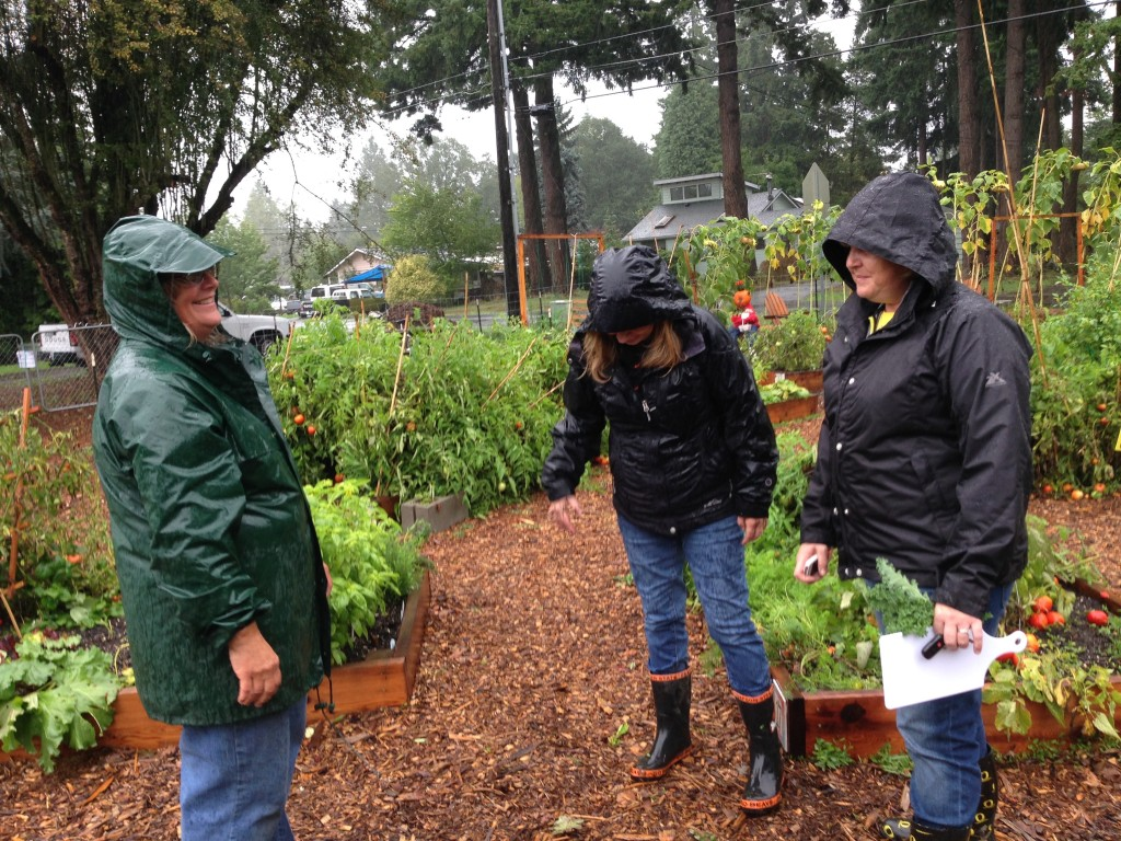 Thanks to the Tigard Garden Club for a Generous 2015 Garden Grant and to Our Volunteers!