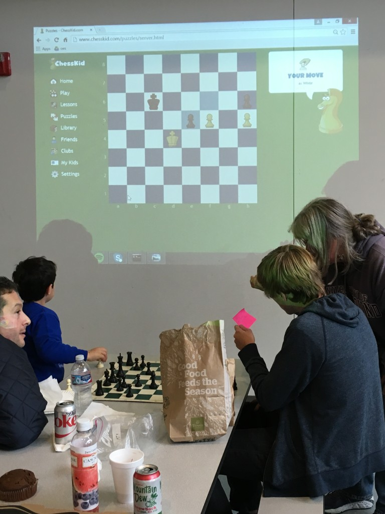 Third Annual KFE Chess Tournament a BIG Success! November 2015