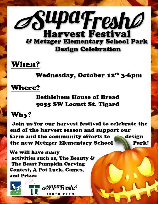 Great Fun For All on October 12, 2016 Harvest Festival!